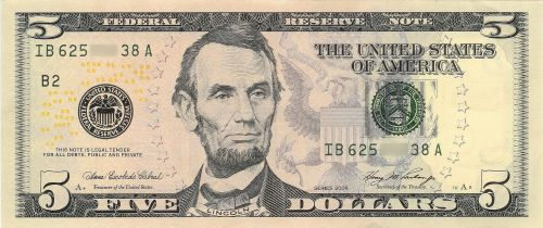 US_$5_Series_2006_obverse
